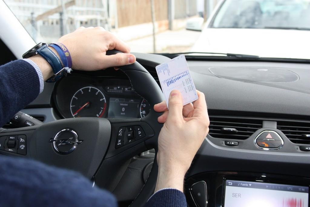 renovar carné conducir